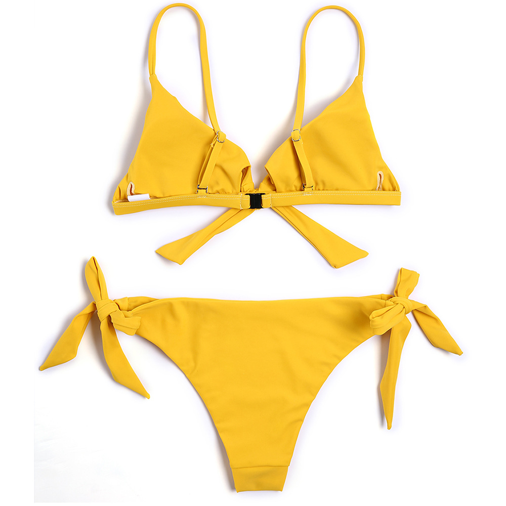 OEM Wholesale womens triangle bikini