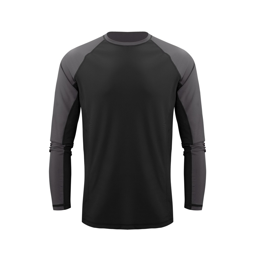 UPF UV 50 30mens long sleeve t shirts plain sportswear