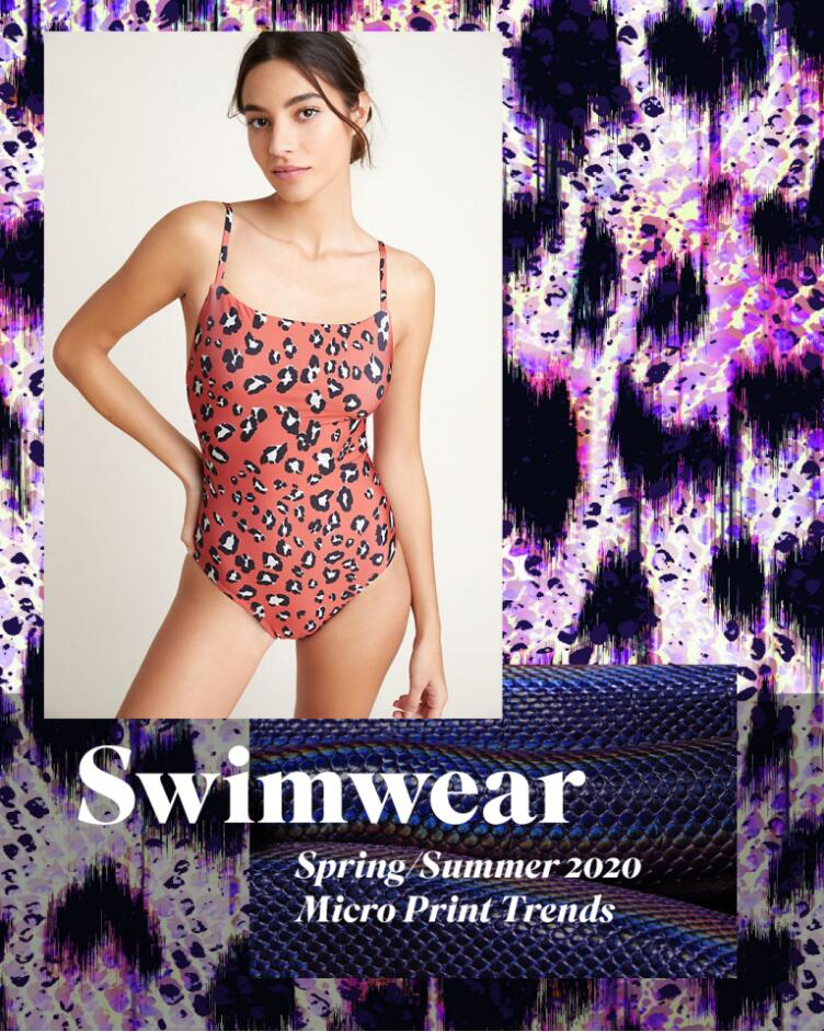 Swimwear Micro Print & Pattern Trends – Spring-Summer 2020